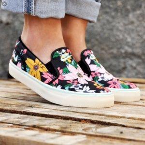 Nike Aloha Floral Slip-on Sneaker Size 7 EUR 38